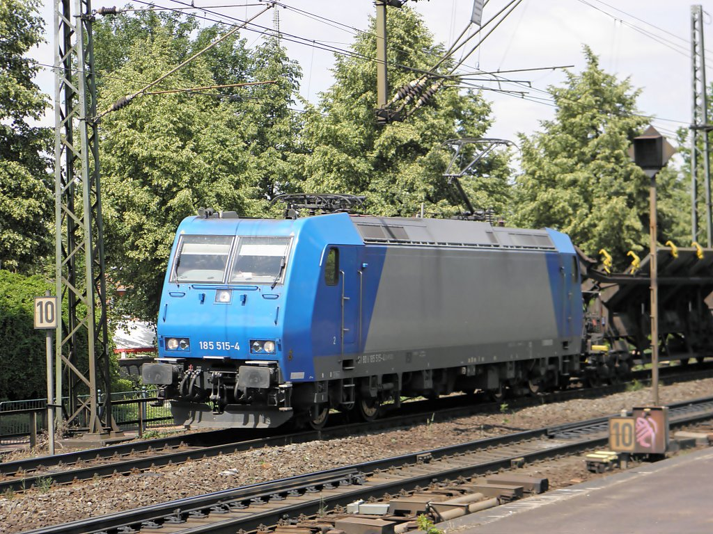 185 515-4 in Beuel am 3.6.2011
