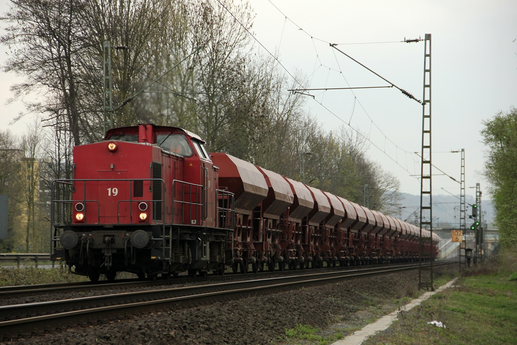 BBL 203 121-9  19  in Rhöndorf am 29.3.2012