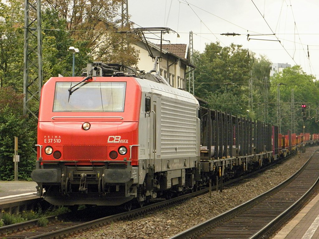 CB Rail E37 510 in Beuel am 26.7.2011