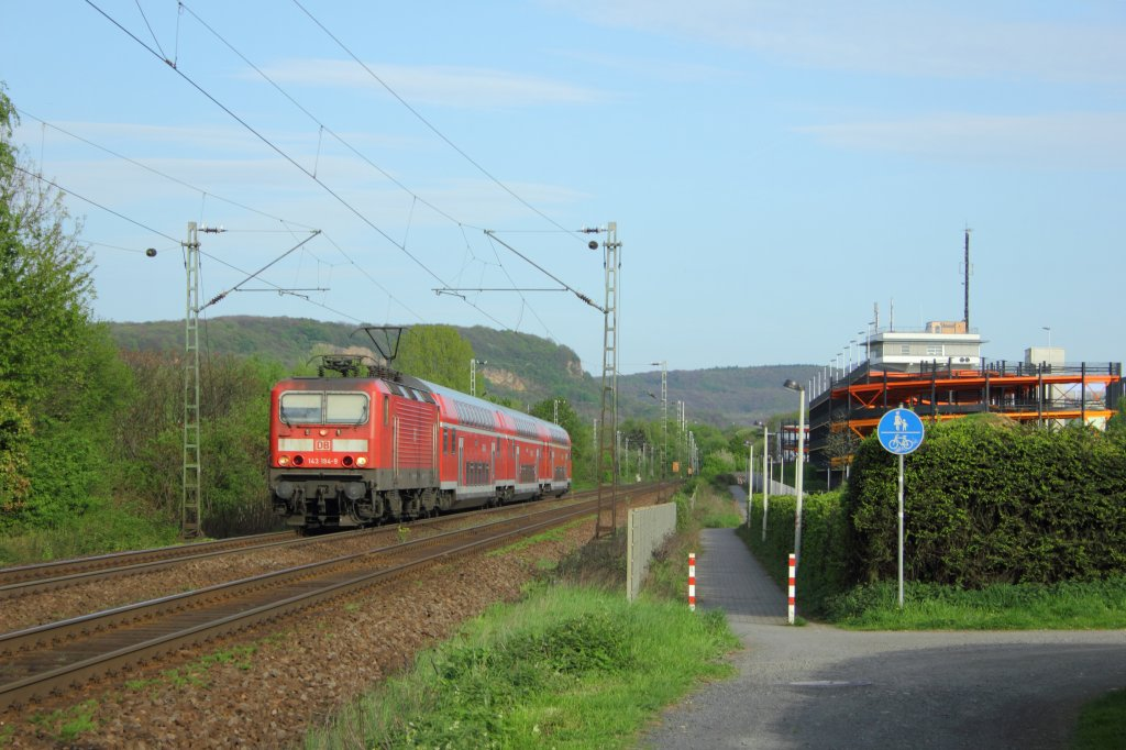 DB 143 194-9 in Limperich am 28.4.2012