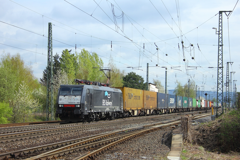ERS Railways E 64 F4-999 (E189-099)  Mike  in Neuwied am 13.4.2012
