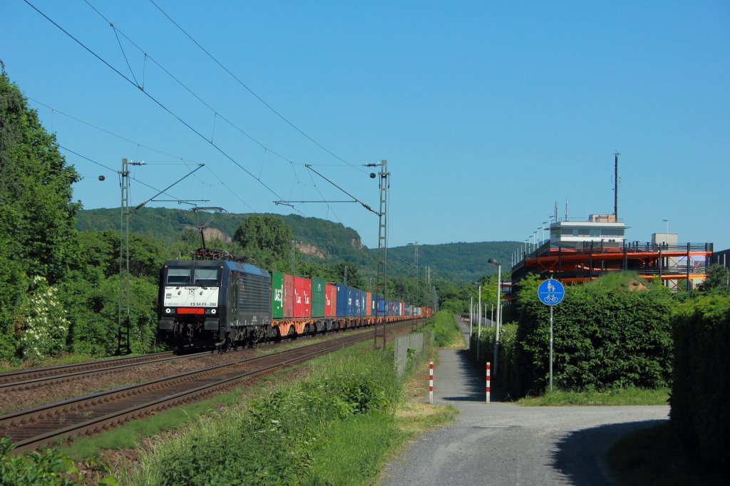 HTRS ES 64 F4-288 (189-288) in Limperich am 25.5.2012