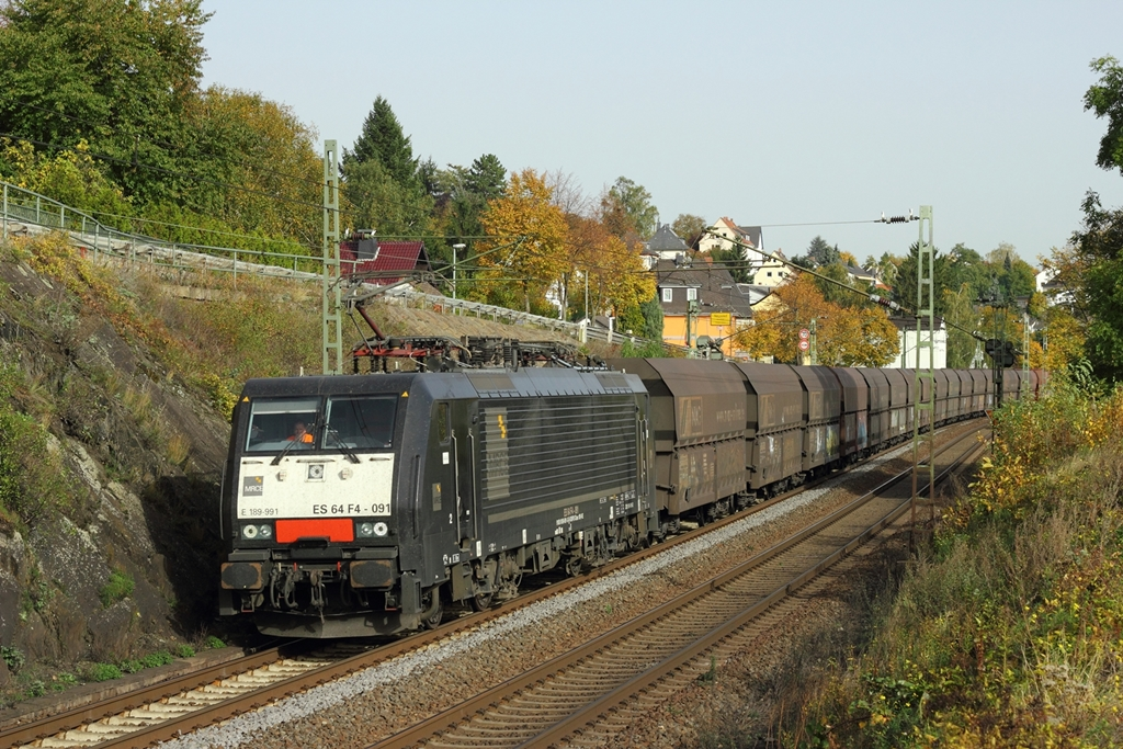 NIAG ES 64 F4-091  E189-991  in Leutesdorf am 19.10.2012