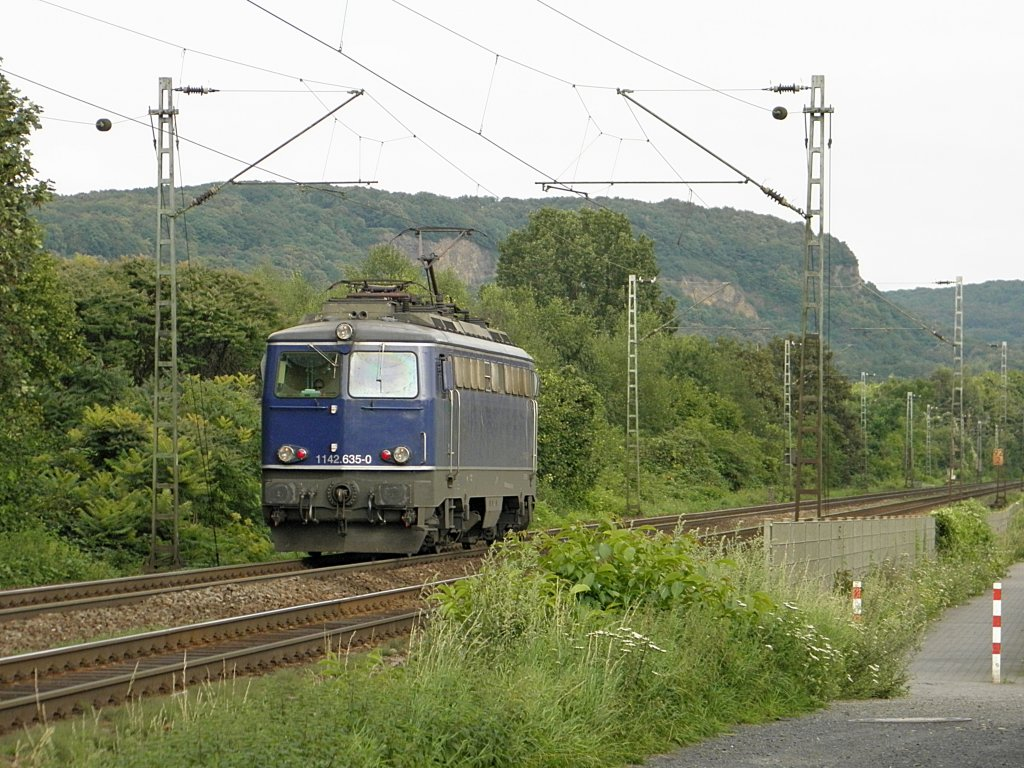 Nortrail 1142.635-0 LZ in Limperich am 29.7.2011