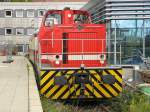 Koln Hbf/153474/bsm-ok-lok-max-mit-einem BSM O&K Lok Max mit einem Sonderzug in Köln Hbf