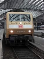 120-Werbelok/99615/db-120-159-9-im-koelner-hbf DB 120 159-9 im Kölner Hbf am 17.10.10