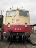 Br 113/160241/db-113-311-5-im-db-museum DB 113 311-5 im DB Museum Koblenz am 17.9.2011