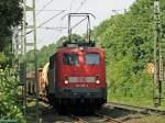 Br 140/138534/db-140-490-4-in-neu-vilich-am DB 140 490-4 in Neu-Vilich am 12.5.2011